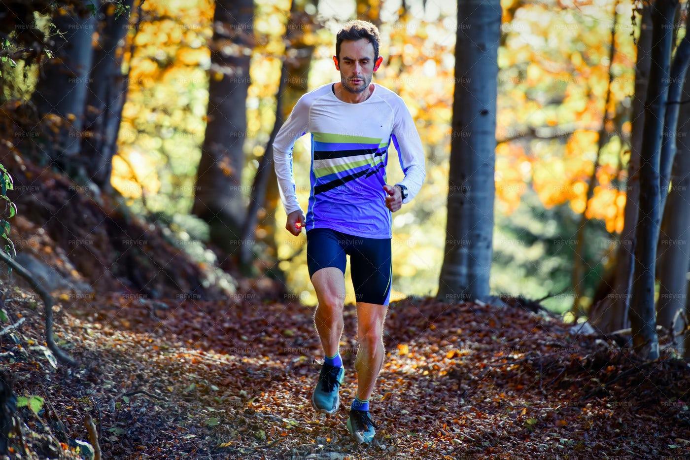Professional Athlete Runner: Stock Photos