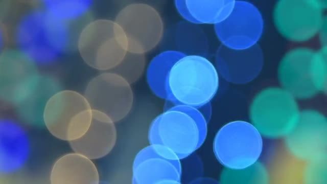 Abstract Background With Blinking Lights: Stock Video