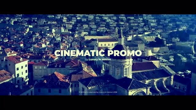 Cinematic Promo: Premiere Pro Templates