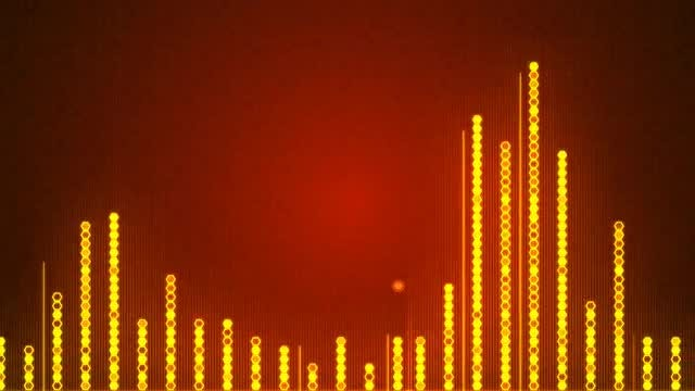 Audio Wave Background: Stock Motion Graphics