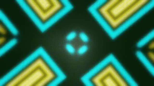 Dynamic Disco LED VJ: Stock Motion Graphics