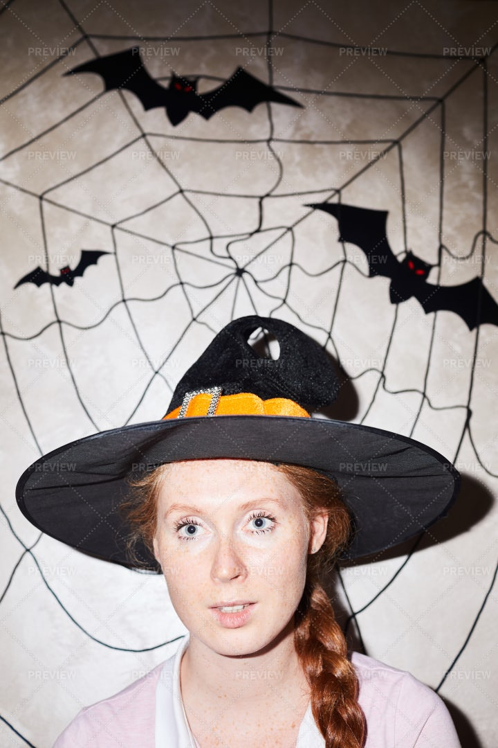 Portrait Of Witch: Stock Photos