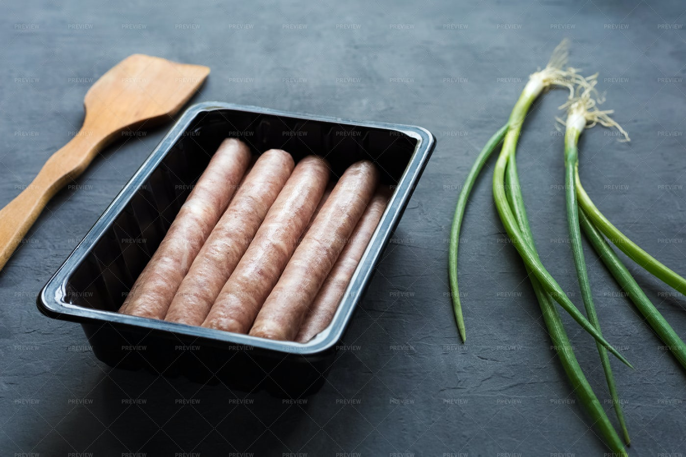 Sausages Semi-finished: Stock Photos