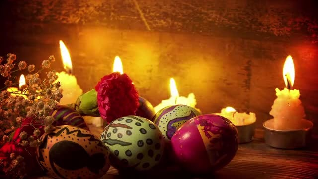 Easter Paschal Celebration Decor Pack: Stock Video