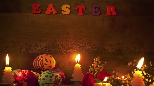 Easter Paschal Eggs Celebration Pack: Stock Video