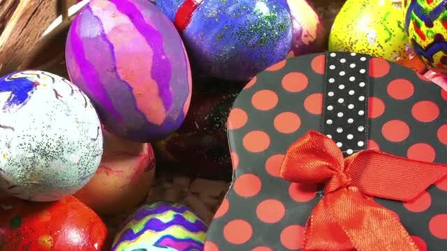 Easter Paschal Eggs Display Pack: Stock Video