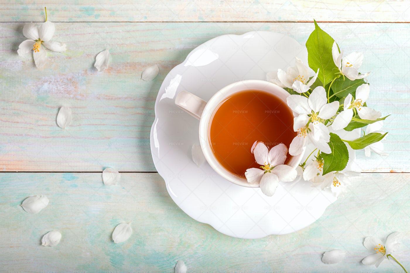 Hot Cup Of Tea: Stock Photos