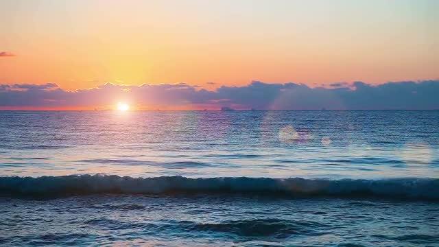 Beautiful Sunrise: Stock Video