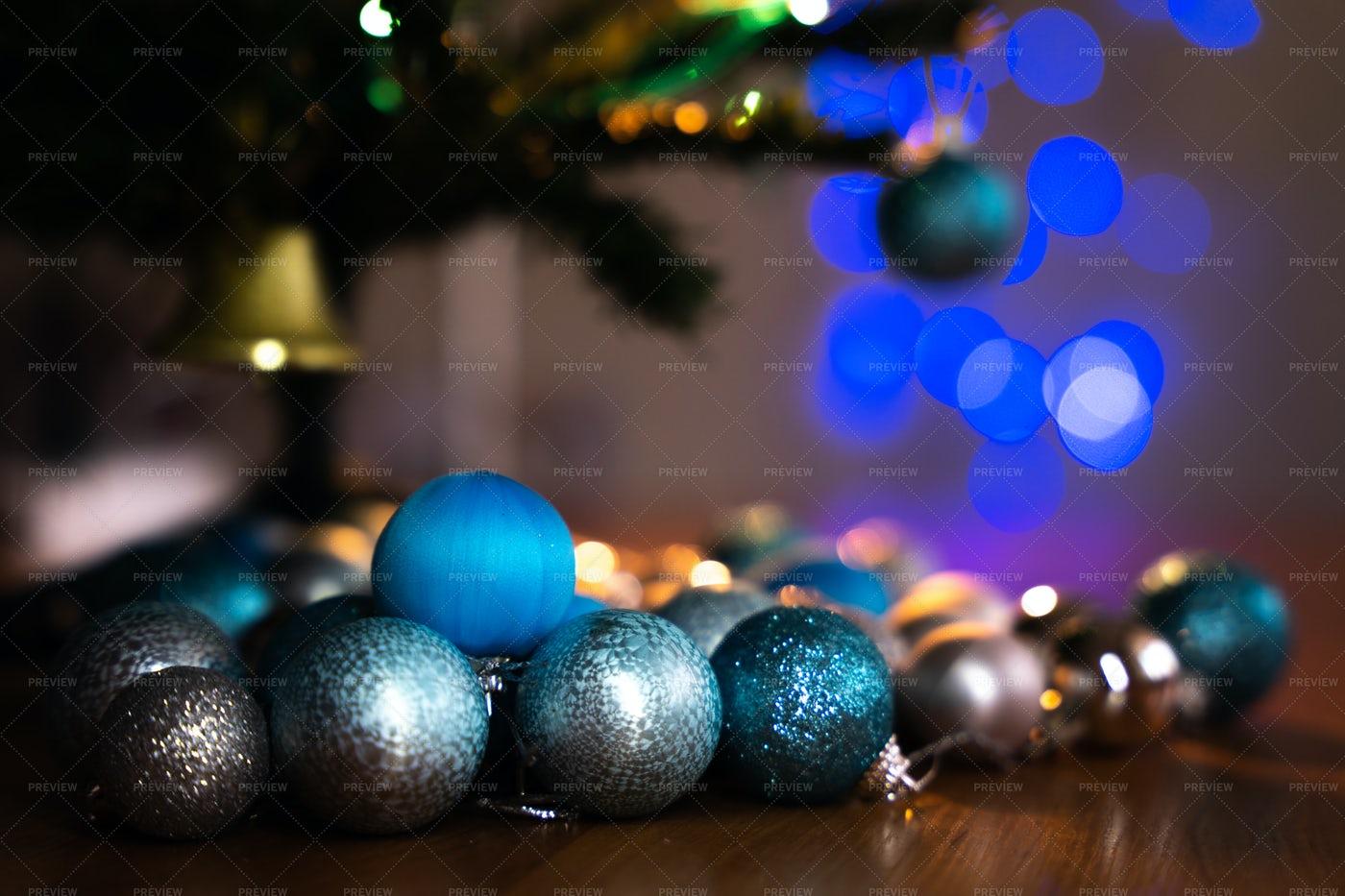 Christmas Baubles: Stock Photos