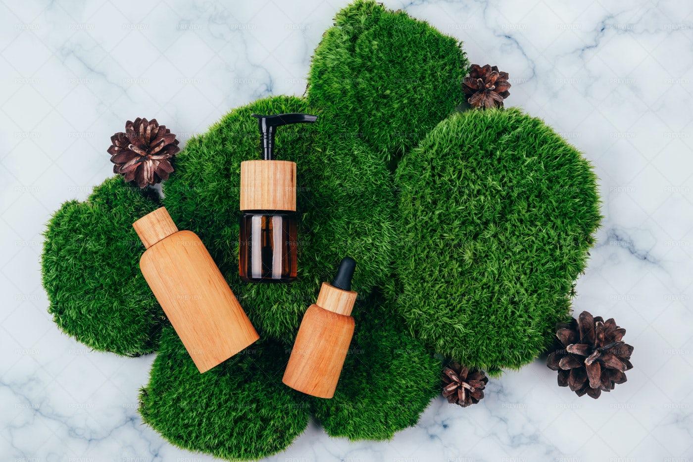 Cosmetic Skincare Mockups: Stock Photos