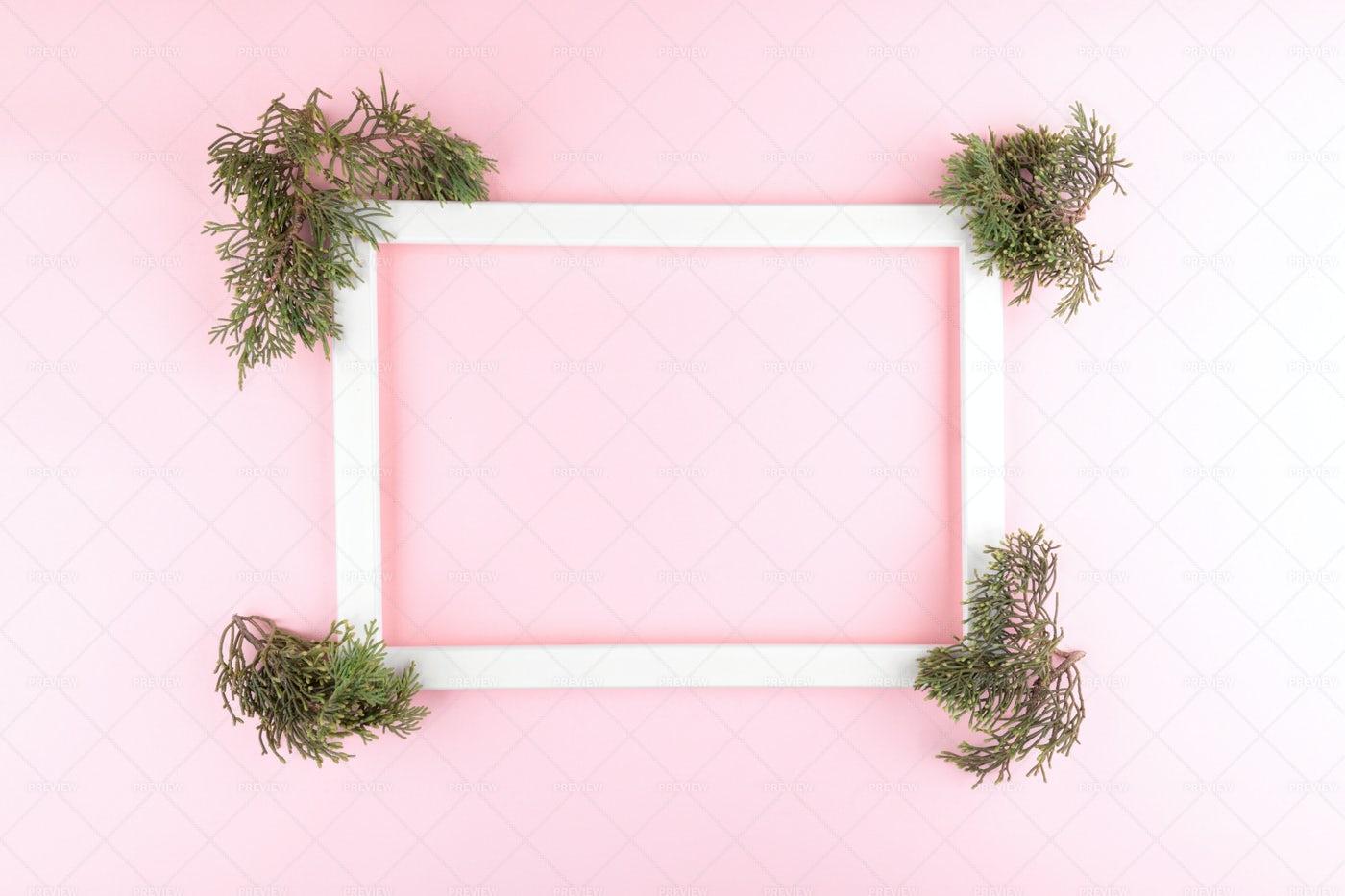 Festive Elegant Frame: Stock Photos