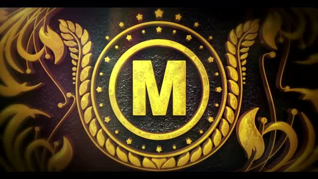 Gold Ornament Logo: After Effects Templates