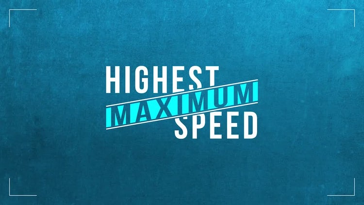 Minimalist Speed Titles: After Effects Templates