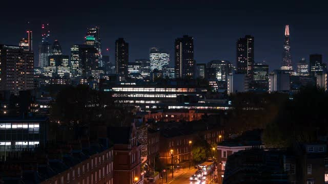 London City Time Lapse: Stock Video