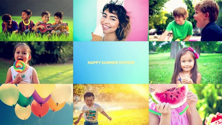 Happy Summer Opener: After Effects Templates