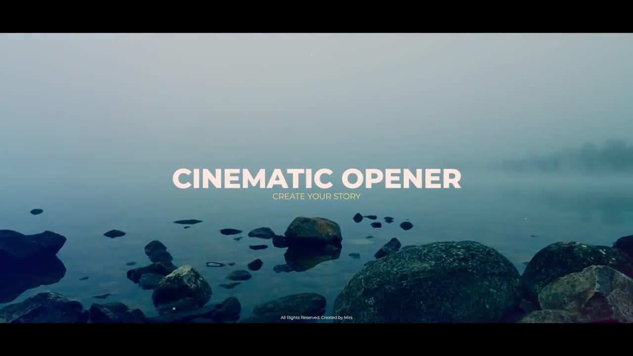 Cinematic Opener - Premiere Pro Templates 85584