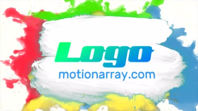 Colorful Logo Reveal: After Effects Templates