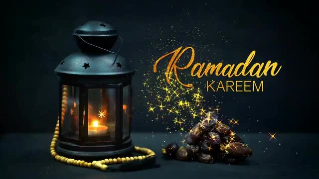 Ramadan Kareem Greeting : Stock Motion Graphics