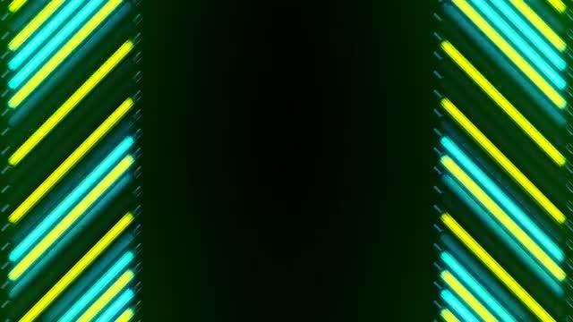LED Lights Border: Stock Motion Graphics