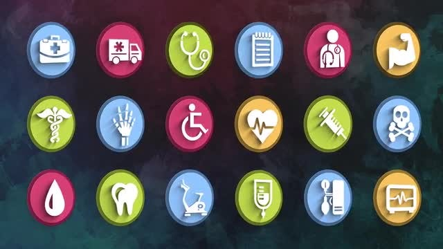 Ultimate Medical Icons Pack: Stock Motion Graphics