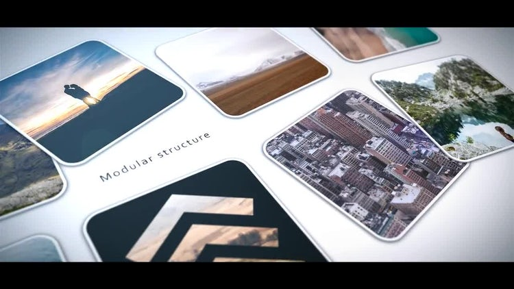 Photo Cards: After Effects Templates