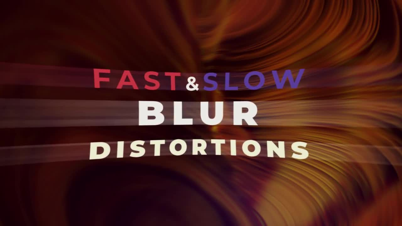 Action Blur Distortion Transitions - Premiere Pro Templates 85804