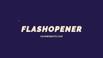 Flash Opener: After Effects Templates
