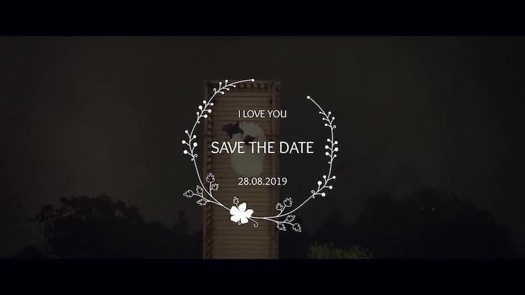 Wedding Titles 4K: After Effects Templates