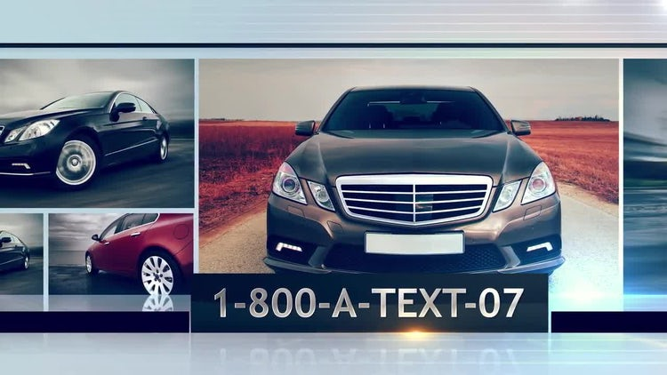 Car Spot: After Effects Templates