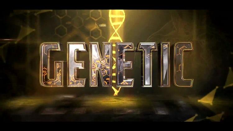 Sport Genetics Logo: After Effects Templates