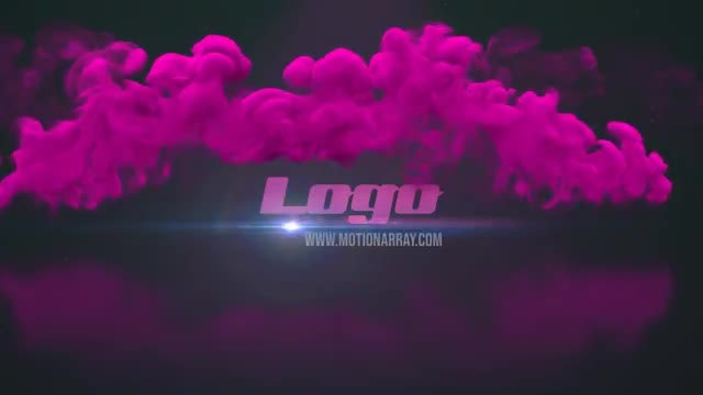 Smoke Logo Reveal : Premiere Pro Templates