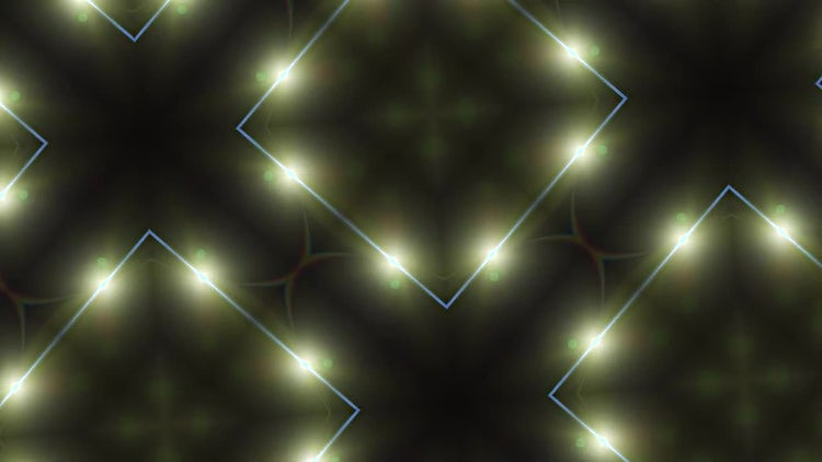 Glowing Yellow Square Background: Stock Motion Graphics
