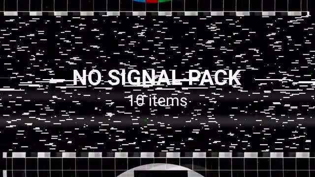 No Signal Pack V.2: Stock Motion Graphics