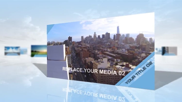 Sky Slideshow Animation: After Effects Templates