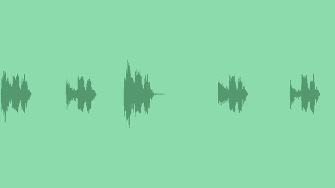 Interface & Menu Buttons: Sound Effects