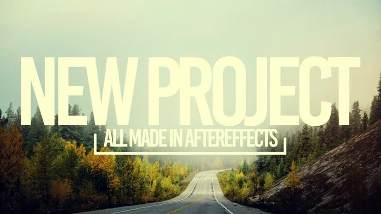 Simple Slide: After Effects Templates
