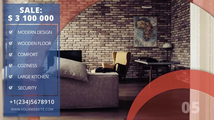 Minimal Estate Promo: After Effects Templates