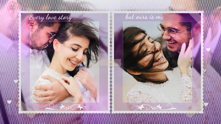 Wedding Memory Slideshow: After Effects Templates