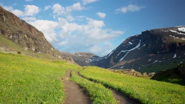 Mountain Landscape: Stock Video