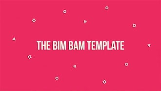 The Bim Bam Template: After Effects Templates