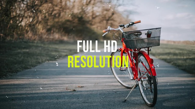 Colors Slideshow: After Effects Templates
