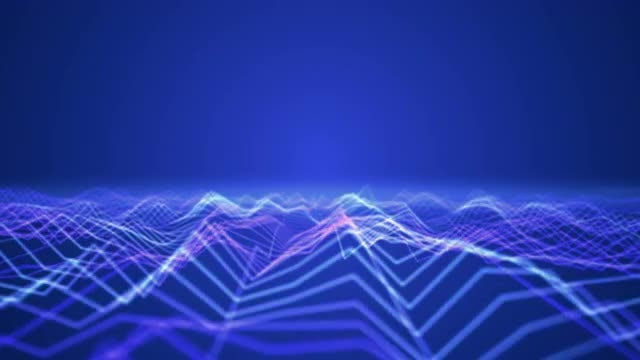 Electric Waves: Stock Motion Graphics