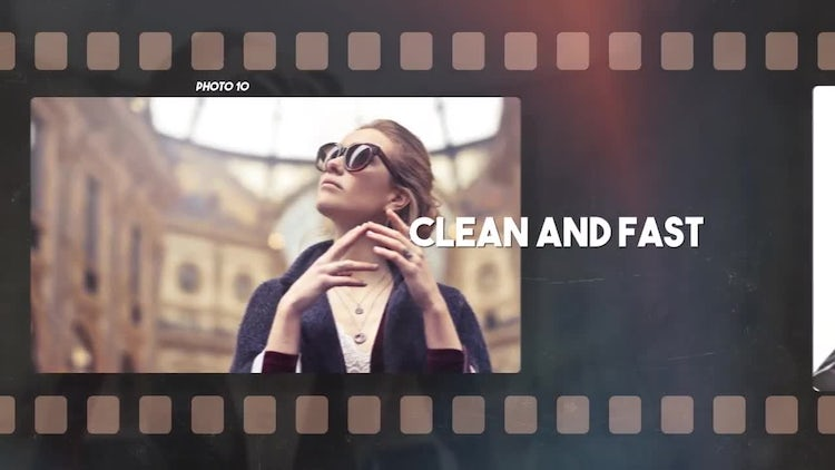Photo Film Slideshow: After Effects Templates