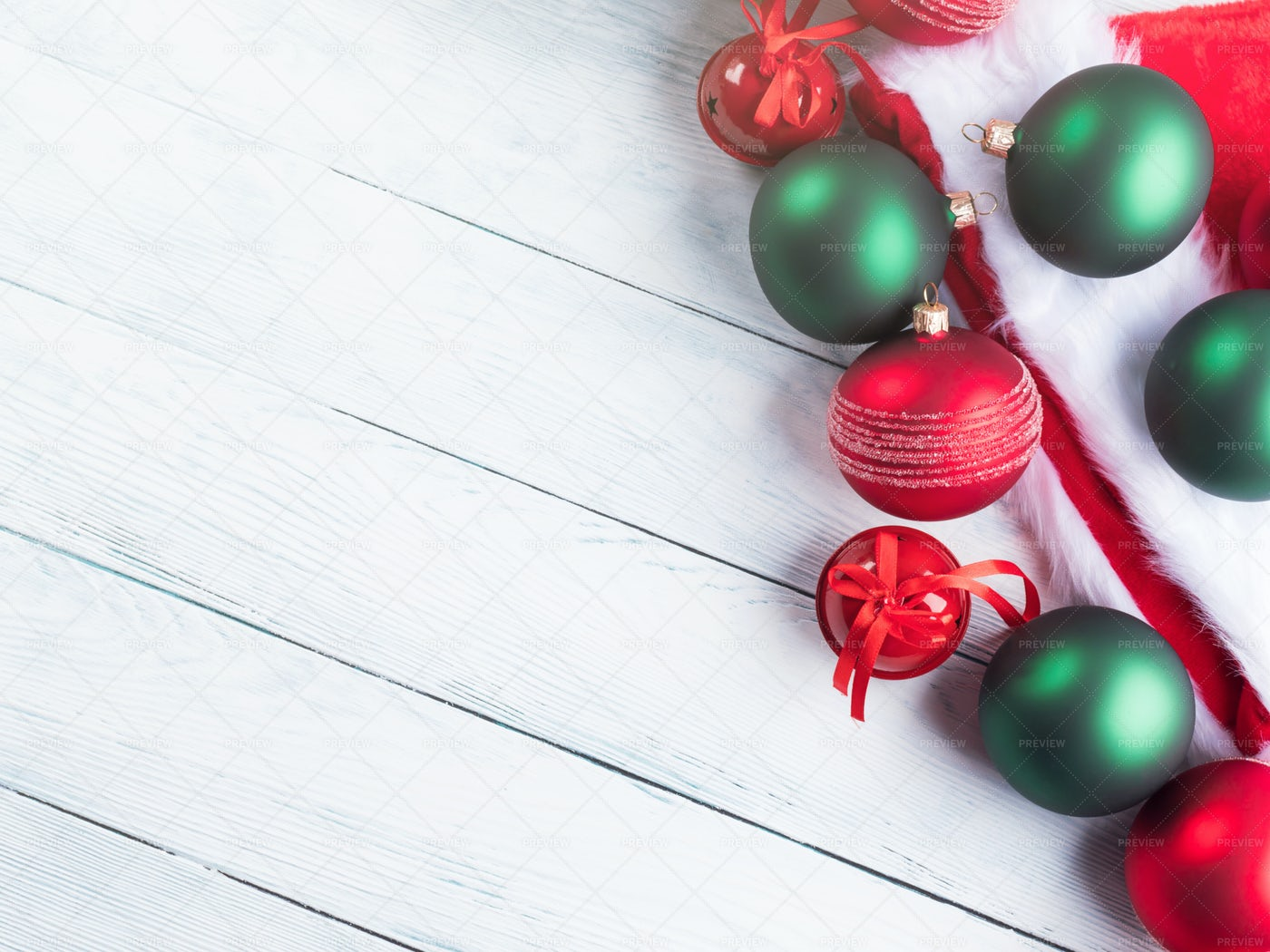 Christmas Decor Background: Stock Photos
