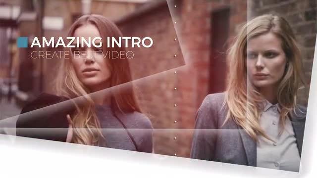 Elegant Opener Slideshow: Premiere Pro Templates