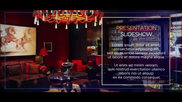 The Presentation Slideshow: After Effects Templates