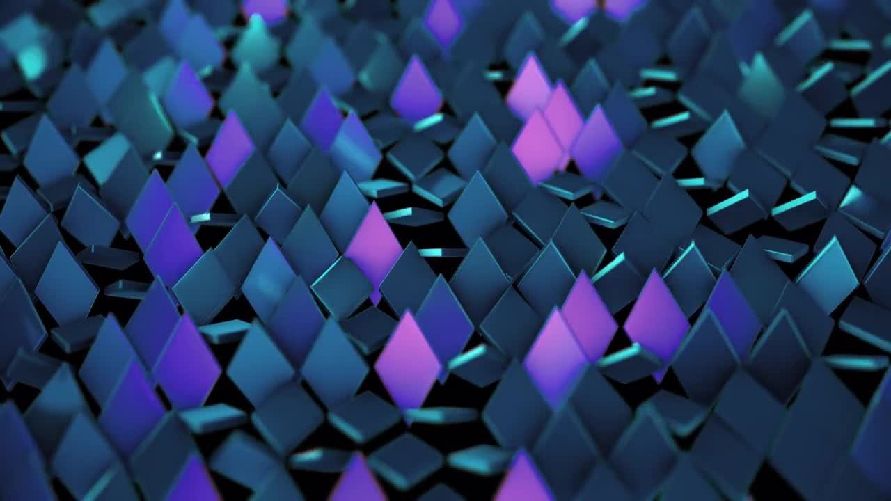 Rotating Rhombus Background - Stock Motion Graphics   Motion Array