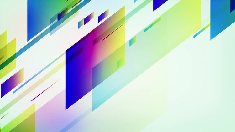 Colorful Slice Background: Stock Motion Graphics