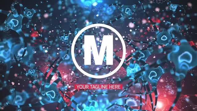 Bacteria Logo Reveal: After Effects Templates