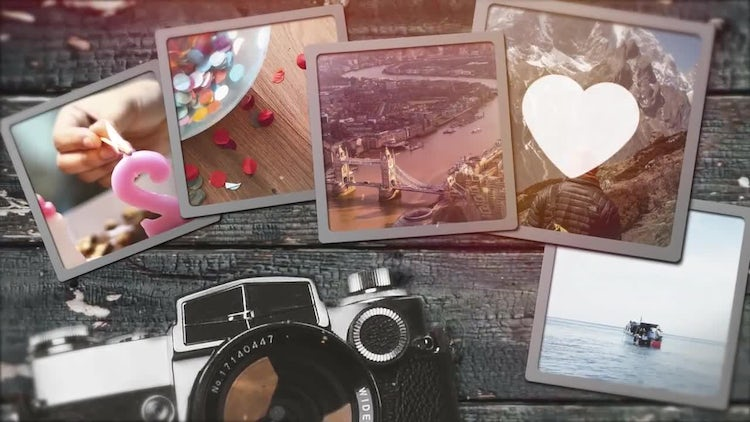 Big Photo Slideshow: After Effects Templates